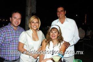 07112007 Luis y Lily Cortina, Jorge Duboisn y Cristina Díaz Courder.