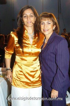 08112007 Tensy Ramírez de Rodríguez y Rosy Sordo de Navarrete.