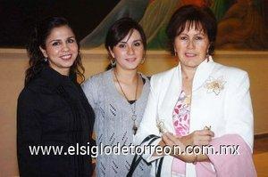 11112007 Dora Chibli, Idaly de Chibli e Idaly Chibli.