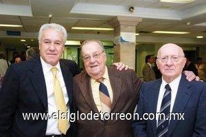 11112007 Jesús Fernández Aranzábal, Enrique Luengo Macías y José Ryenes Cortina.