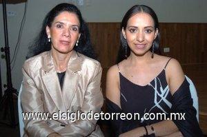 11112007 Lety de Alcántara y Lorena Mora de López.