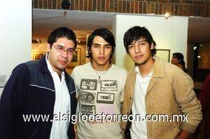 11112007 Roberto Piedra, Francisco Díaz y Gerardo Ibarra.