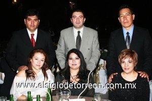 14112007 Jorge y Mónica Bojorges; Carlos y Flor Rodríguez; y Felipe y Guadalupe Bretado.