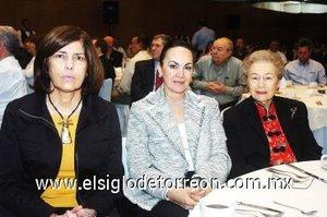 14112007 Rosario Ramos Salas, Yeye Romo Zozaya y Pilar Díaz Rivera de López.