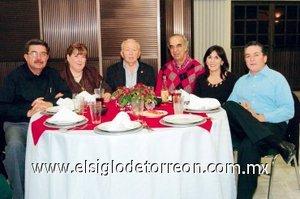20112007 Carlos Noyola Cedillo, María de la Luz Cossío de Noyola, Luciano Arriaga Acosta, César Metlich, Blanca Marcos de Giacomán y Ricardo Giacomán