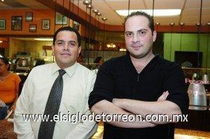 23112007 Jorge Cajero y Pedro Kotsifakis.