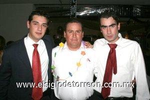 27112007 Luis Vázquez, Jesús Torres y Luis del Moral.