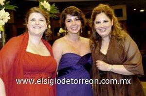 29112007 Tami John, Fabiola Dobelly y Paty González Arriaga.