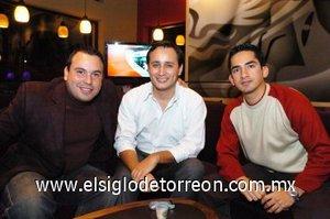 30112007 Homero Cano, Gerardo Iván García Colmenero y Ricardo Meraz.