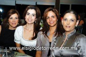30112007 Payo de Yacamán, María Rosa de Rebollo, Any de Campillo y Lucía de Reed.