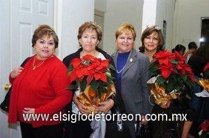 30112007 Socorro de Montañez, Coco de Corzo, Ángeles de Martínez y Lupita de Pereyra.