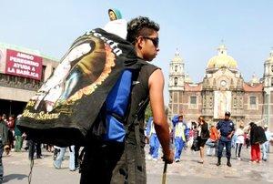 Alrededor de 5 millones peregrinos de todo el país arribaron a la Basílica de Guadalupe.