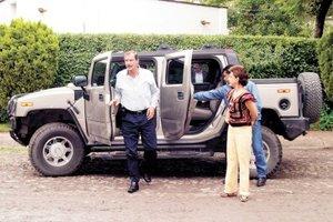 """Causó controversia y escándalo el ex presidente Vicente Fox como consecuencia de la riqueza """"injustificada"""" de la que hizo gala en su rancho San Cristóbal."""