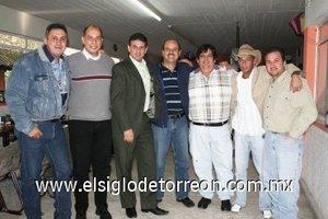 10012008 Miami Gómez, Jorge Mijares, Luis Carlos Dávila, Emilio Chaúl, Ale Ibarra, Bernardo Llamas y Daniel Moya.