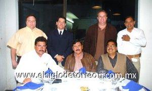 15012008 Adolfo Martínez Borjas, Jesús Hernández, Armando Jáuregui, José Ramón Mata, Juan Adolfo Von Bertrab, Leonardo David Nahle Ortiz y Sergio Raúl Gutiérrez Rocha.