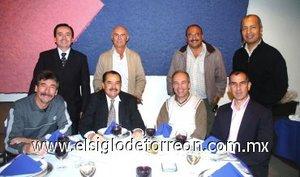 15012008 Carlos Murillo Samper, Jaime Alfonso Velázquez, Francisco Porragas, Luis Hernández, Darío Jiménez Berumen, José R. Martínez, Humberto Rodríguez y Tomás Galván.