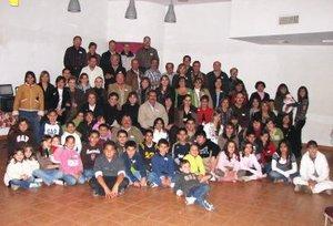 18012008 Muy alegre y concurrida estuvo la convención anual de la familia Aguilera.