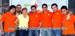 23012008 Omar Rivera, Marco Arturo Rivera, Mayela Salazar de Rivera, Marco Rivera Salazar, Diego Rivera Salazar, Jorge Núñez y Rafael Rustrian.