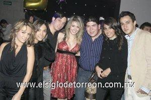 26012008 Gabriela y Mariana Abascal, Alejandro Aguilar, Aransazu y Hugo de la Mora, Lucía y Eduardo Doblado.