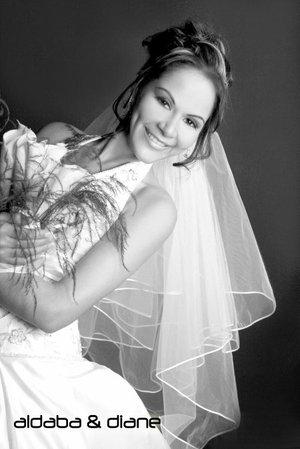 Lic. Patricia Monserrat Aguilera Benítez el día de su boda con el Lic. Luis Gerardo Navarro Fernández. <p> <i>Estudio Aldaba & Diane.</i>