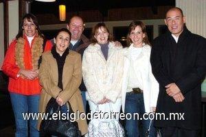 20012008 Rosy Cabello, Oly y Óscar Montaña, Margarita Valdez, Anelise Ahnert y Poncho Cabello.