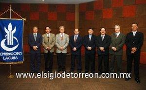 20012008 Nueva mesa directiva Club Sembradores Laguna, para el ejercicio 2008.