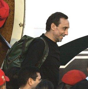 Los liberados llegaron acompañados de la misión encabezada por el ministro de Relaciones Interiores, ex capitán de navío Ramón Rodríguez Chacín, y la senadora colombiana, Piedad Córdoba.
