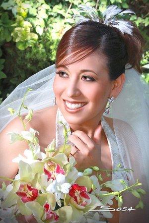 Srita. Ixchel Goretti Escobedo Huerta contrajo matrimonio con el Sr. Fernando Adame Barraza