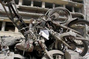 Uno de los ataques fue ejecutado contra la sede de la Oficina Federal de Investigación (FIA), que ha quedado destrozada.