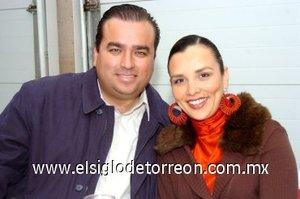 02032008 Carlos González y Angélica Contreras.