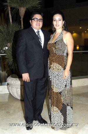 03032008 José Manuel Sánchez y Laura de Sánchez.