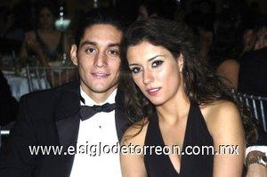 03032008 Natalia Wolf y Michel Moussa.