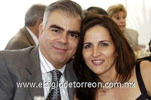 05032008 Rubén Castañón e Ivonne de Castañón.