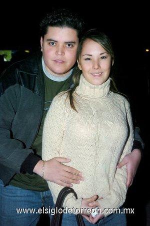 07032008 Sergio Martínez y Zayda Frías.