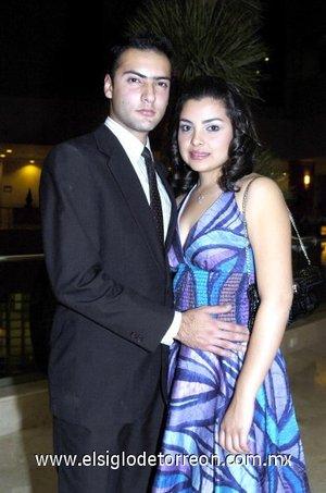 09032008 Ahmad Hamdan y Wendy Medina.