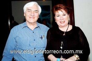 09032008 Patricia Vázquez y Fernando Russek.