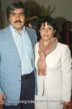 09032008 Raúl Martínez y Lourdes de Martínez.