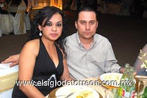09032008 Verónica Facio y Édgar Silva, en pasado acontecimiento matrimonial.