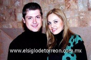 13032008 Alberto López y Aracely Holguín, se casarán el próximo sabado.