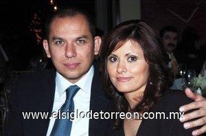 16032008 Alejandro Cabello y Patricia de Cabello.