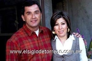 16032008 Lily de Durán y su esposo Ignacio Durán.