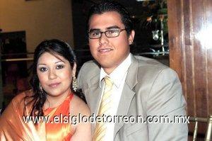 17032008 Gina Cruz Álvarez y Mario Beltrán.