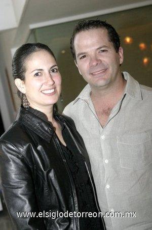 23032008 Iliana Garza Tijerina de Jalife y Fernando Jalife Sánchez.