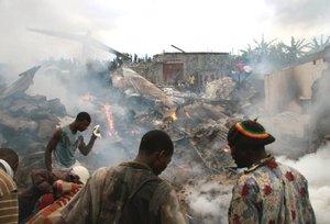 27 abril 2006, murieron los cinco tripulantes del avión Convair 580 al estrellarse la aeronave en la que viajaban.