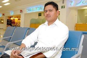 02052008 Anastacio González, viajó con rumbo a la Ciudad de México