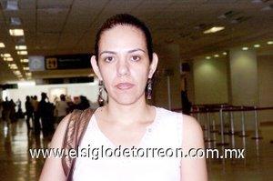 03052008 Leticia Encino viajó a la ciudad de Tijuana.