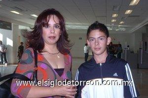 04052008 Se marcharon a Tijuana Ruth Martínez y Andrés Samuel Guerrero.