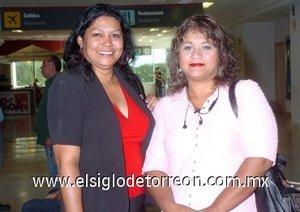 07052007 Silvia González y Lucy Gamboa viajaron a Guadalajara, Jalisco