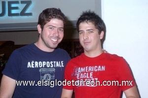 25052008 Arturo y Luis Fernando Schmal viajaron a la Ciudad de México