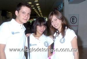 31052008 Jesús Rivera, Aline Espinoza y Karla López viajaron a Toronto, Canadá